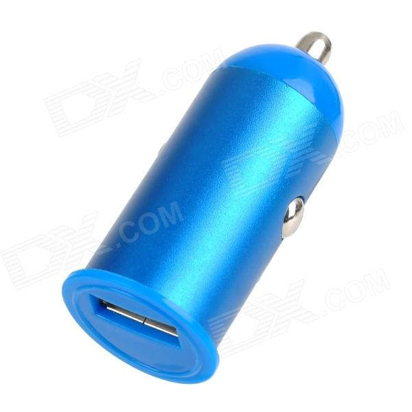 USB Car Cigarette Lighter Plug Charger for Iphone 4 / 4S / 5 - Blue (12~24V)