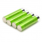 GP Ersatz 1.2V 820mAh NiMH AAA-Batterie w / Case - Green (4 PCS)