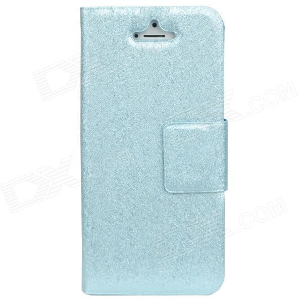 Stylish Protective Case for Iphone 5 - Light Blue protective matte silicone case for iphone 5 5s dark blue white