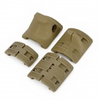 Tactical 21mm Gun Grip Guard Cover Panels Set - Army Green