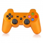 Bluetooth V3.0 Mini USB Wireless DualShock Controller for PS3 / PS3 Slim / PS3 CECH4000 - Golden