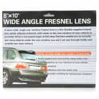 Wide-angle Rear Window Fresnel Lens - Transparent