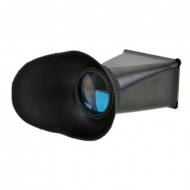 V6 2.8X LCD Viewfinder for Canon EOS M Interchangeable Lens Digital Camera - Black