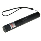 LZZ-416 5mW 650nm Focus Adjustable Gypsophila Red Laser Pointer - Black (1 x 18650)