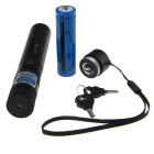 5mW 405nm Zooming Dot + Gypsophila Blue-Violet Laser Pointer - Black (1 x 18650)