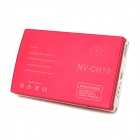 New-View NV-CH10 External Portable 15000mAh Power Bank for iPad - Deep Pink + White