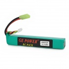GE POWER 11.1V 1500mAh 25C Li-Poly Battery Pack for R/C Model Toy - Green