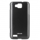 USAMS I8750XB01 Protective PC Back Case for Samsung ATIV S / i8750 - Black