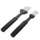 Car Air Conditioner Vent Cleaning Brushes Set - Black (2 PCS)