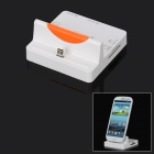 3-in-1 Micro USB Charging Dock Station + USB 2.2 Hub + M2 MS Card Reader for Samsung i9300 / i9200