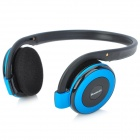 b-350 3-in-1 Bluetooth V2.1 + EDR Headphone w/ Hands-free / MP3 Player / FM Radio - Black + Blue
