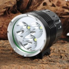 NITEFIRE NFC-30 3 x Cree XM-L T6 2200lm 4-Mode White Bicycle Light - Black (4 x 18650)