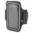 Outdoor Sport PU + Neoprene Armband for Samsung Galaxy S4 / i9500 - Black