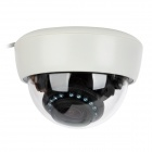 700TVL High Resolution Night Vision Wired Adjustable Surveillance Camera - White