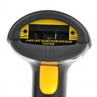 SMQXYL880ATW Handheld USB Wired Visible Laser Barcode Scanner - Graphite Grey