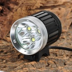 NITEFIRE NFC-32 3 x Cree XM-L T6 2400lm 4-Mode White Bicycle Light - Black (4 x 18650)