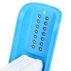 Can Style 5W 1300~1500lm 5500K 14-LED White + Colorful Light Table / Sleeping Lamp - Sky Blue