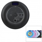 Canovo Wall-mounted Portable 2-Channels Hi-Fi CD Player Speaker w/ TF / USB 2.0 / FM - Black