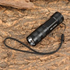 UniqueFire 602C-UV 3W 395~410nm Ultraviolet LED UV Flashlight - Black (1 x CR123A / 16340)