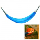 CoolChange Outdoor Camping Hiking Portable Nylon Swing Hammock - Blue