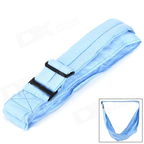 TCB0050 Cotton Suspenders Baby Carrier Sleeping Bag - Light Blue