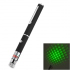 LZZ-101A 5mW 532nm Gypsophila Green Laser Pointer - Black (3 x AAA)