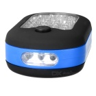 Outdoor Electronic 27-LED Camping / Emergency / Tent Light - Black + Blue