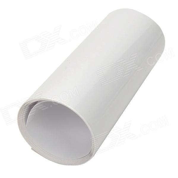 FF0001 Protective PVC Sticker Film for Car Auto Vehicle Body - Transparent (10 x 100cm) protective pvc car bumper guard protector sticker white 2 pcs