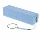 2600mAh bateria externa Mobile Power Bank - Azul (Lemon Scent)