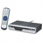 DVB T2 8001 HD Terrestrial Digital TV Receiver w/ HDMI / SCART / RCA / USB / PVR - Silver + Black