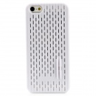 Mesh Style Protective TPU Back Case for Iphone 5 - White