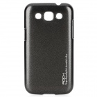 Protective Plastic Back Case for Samsung I8552 - Black