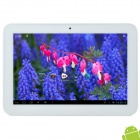 "Teclast A11 10.1"" Capacitive Screen Android 4.1 Quad Core Tablet PC w/ TF / Wi-Fi / Camera - Silver"
