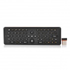 EA-02 2-in-1 2,4 GHz Wireless-Air Fly Maus + Tastatur mit 61 Tasten - Schwarz + Orange