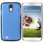 TuoErMei Protective Aluminum Alloy Back Case for Samsung Galaxy S4 i9500 - Deep Blue + Black