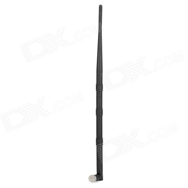 2.4G RP-SMA 3-Section 9dBi Vertical Antenna - Black