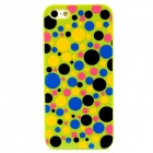 Colorful Polka Dot Style Protective Plastic Back Case for Iphone 5 - Green