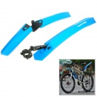 GUB 889F\R Quick Disassembling Fender / Mudguard for Mountain Bicycle / Bike - Blue