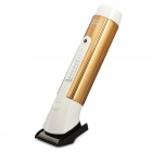 ZN9002 Rechargeable Hair Chipper Trimmer w/ Accessories Set - Black + White + Golden (EU Plug)
