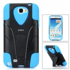 iMAX S-074BL Protective Case for Samsung Note II - Blue + Black