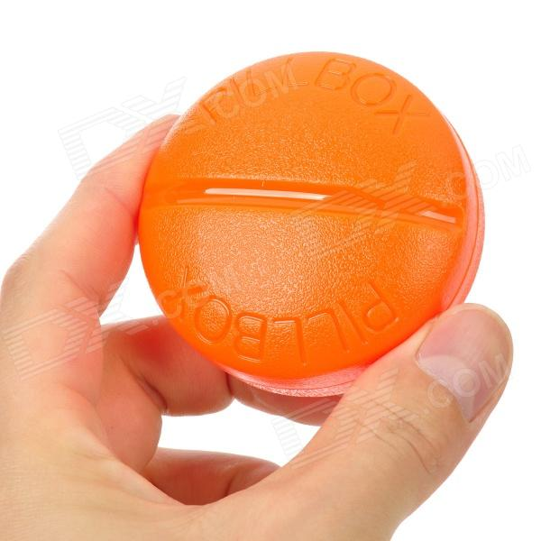 ... compartment Pill Storage Box - Orange - Free Shipping - DealExtreme