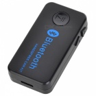 Bil Bluetooth V3.0 Music Receiver w / Stereo Output / Handsfree - Svart