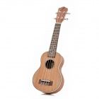 "21"" Sapele Plywood 4-String Ukulele - Brown"