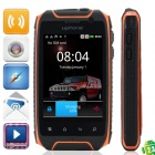 "UPhone H1 Android 2.3.6 Ultra Rugged GSM Smartphone w / 3,5 ""Kapazitive Bildschirm, Dual-Band und Wi-Fi"