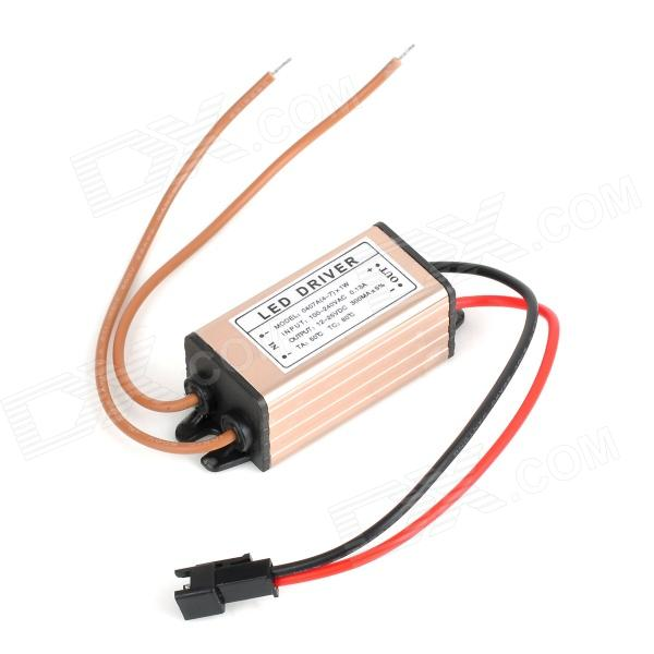 Aluminum 5W LED Driver Power Supply (100~240V) switching power supply adapter ac 90v 240v to dc 5v 300ma 1 5w buck converter voltage regulator driver module