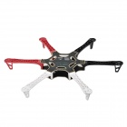 HJ550 6-Axis Frame KK / MK / MWC Quadcopter Kit - White + Red + Black