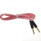3.5mm Male to Male Audio Flat Cable - Pink