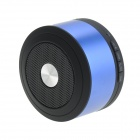 Portable Mini Bluetooth V3.0 Subwoofer Speaker - Blue