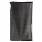 KY008 Retractable Car Window Sunshade Shield Visor Curtain- Black + Transparent (58 x 125cm)