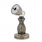 YW8829 Iron Alloy Magnetic Door Stopper - Silver + Bronze